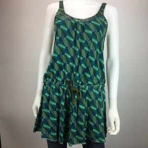 Anthropologie Free People Racerback Drop Tie Waist